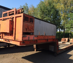 Nooteboom Dieplader ODUN-33 with Crane/Winch