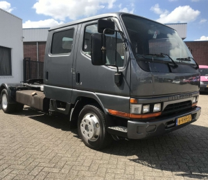 Mitsubishi Canter BE trekker FE 35 XL Dubbele Cabine