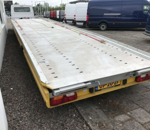 MAP OP8,5LL Autotransporter trailer met lier