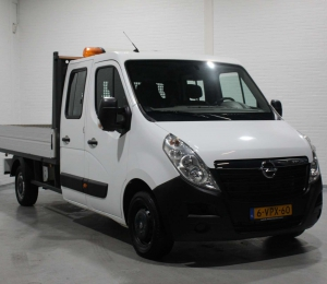 Opel Movano 2.3 CDTI Pick-Up Dubbele Cabine 7 persoons