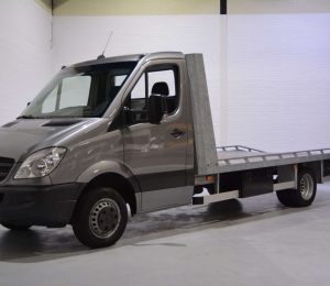 Mercedes-Benz Sprinter 516 CDI Autotransporter met lier
